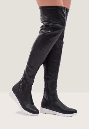 Cizme dama Melika II NegreCizme lungi peste genunchi