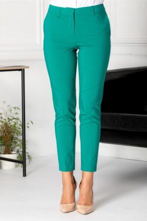 Pantaloni Iza verzi officePantaloni