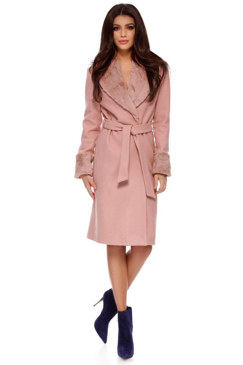 palton candy roz pudra 6