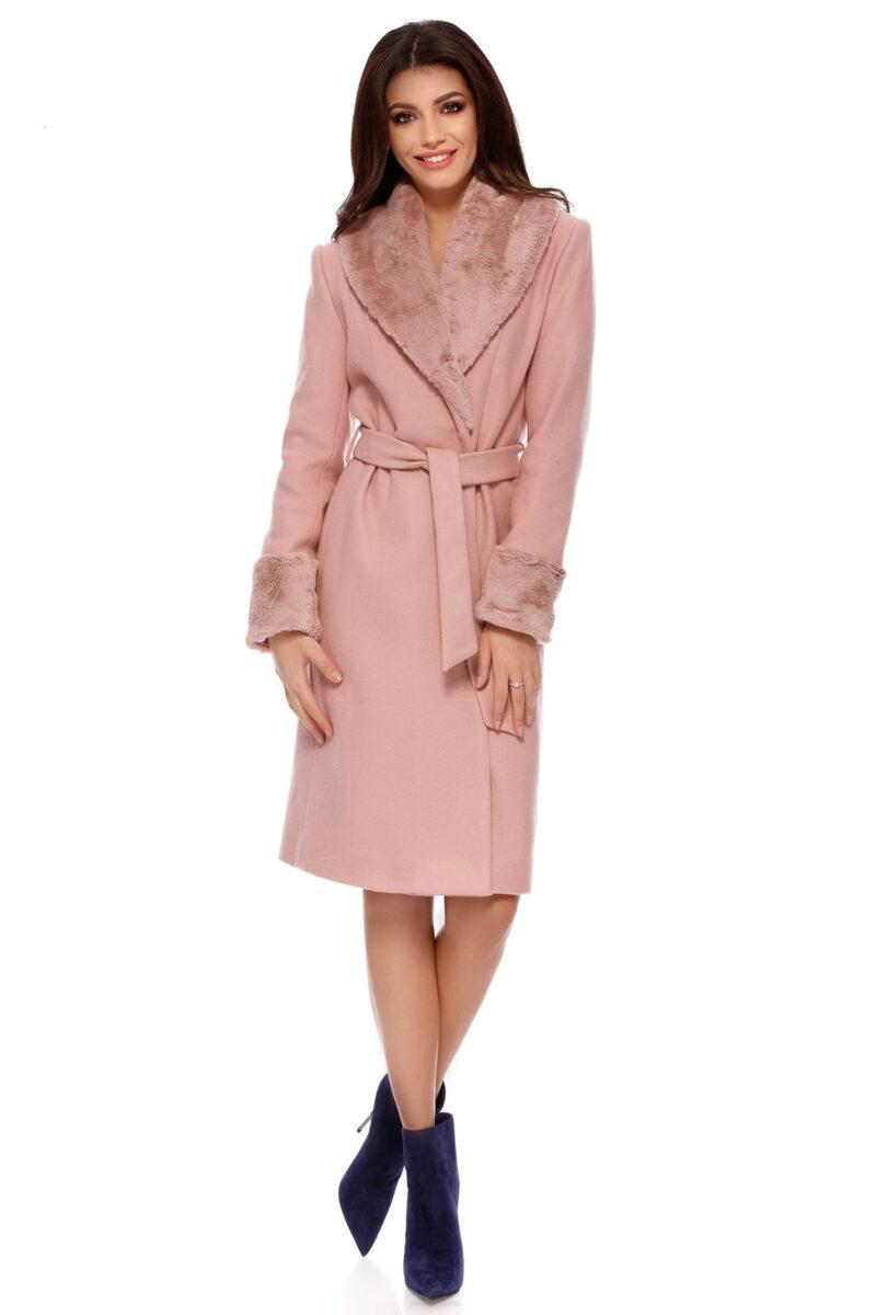 palton candy roz pudra 7