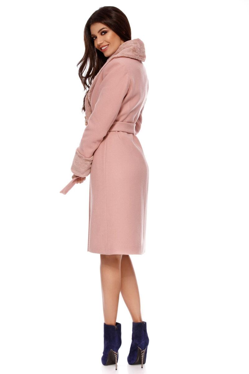 palton candy roz pudra 8
