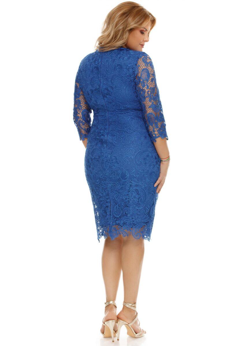rochie albastra plus size arella 10 scaled