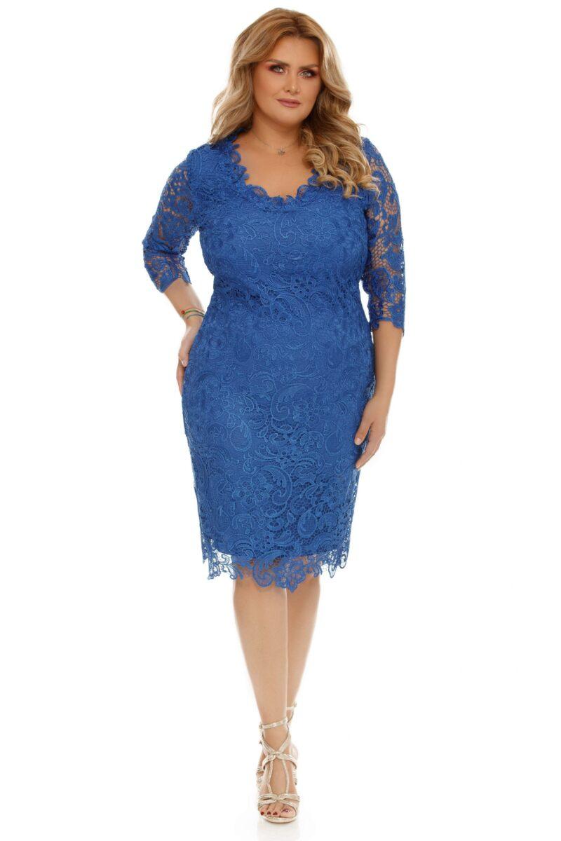 rochie albastra plus size arella 9 scaled
