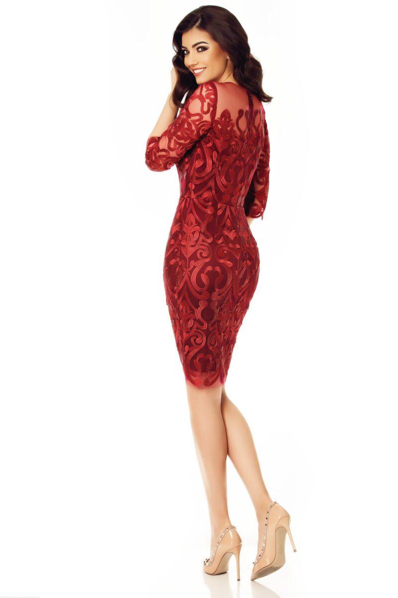 rochie anysia bordo 11