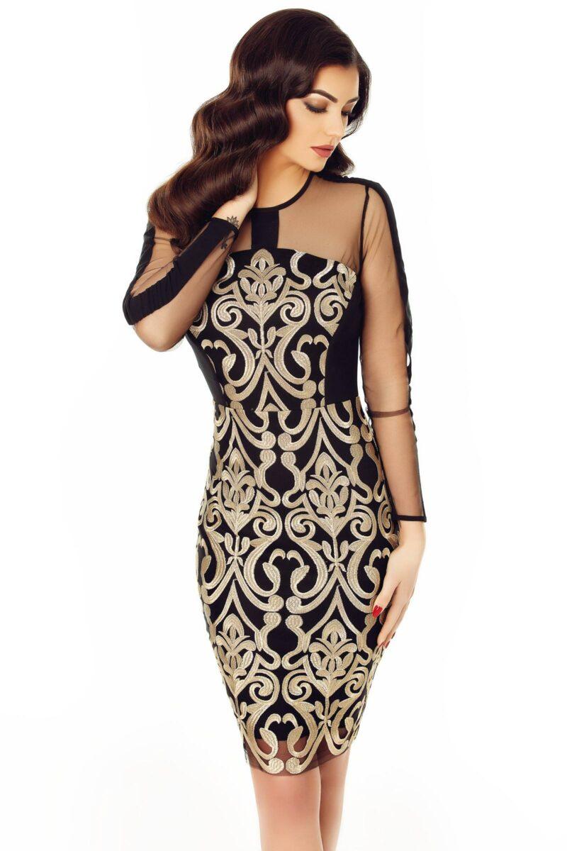 rochie ari auriu 10