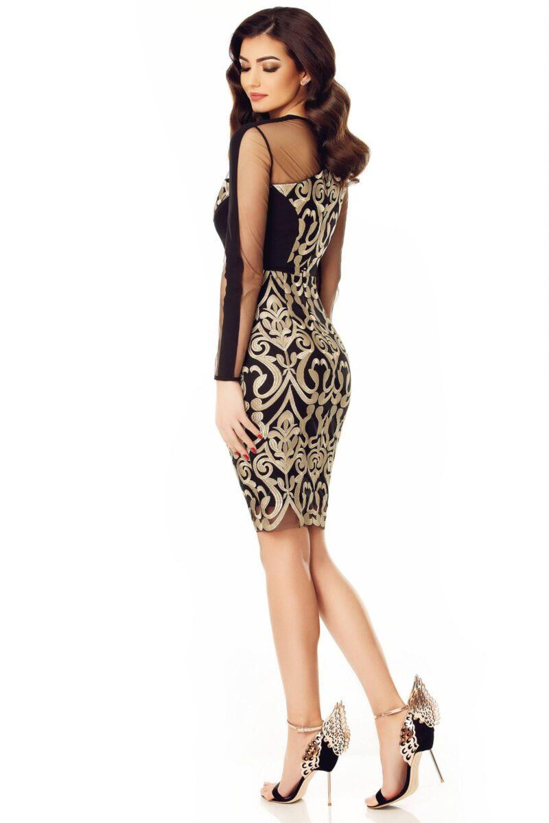 rochie ari auriu 11