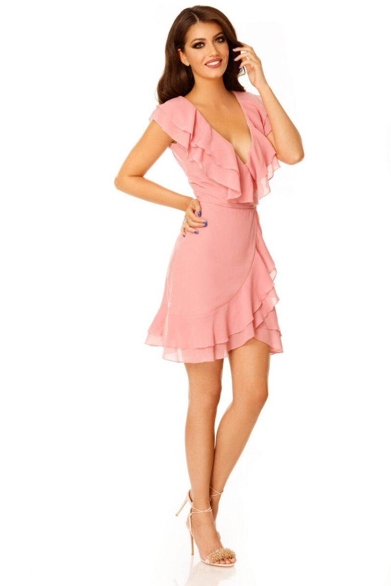 rochie brianna roz pudra 2 scaled