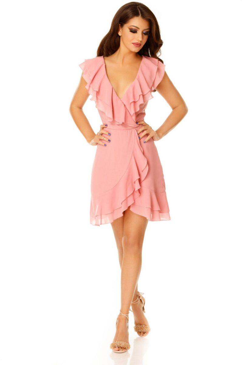 rochie brianna roz pudra scaled