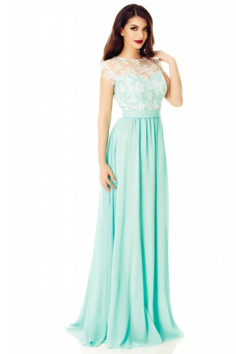 rochie cassia verde menta 3 scaled