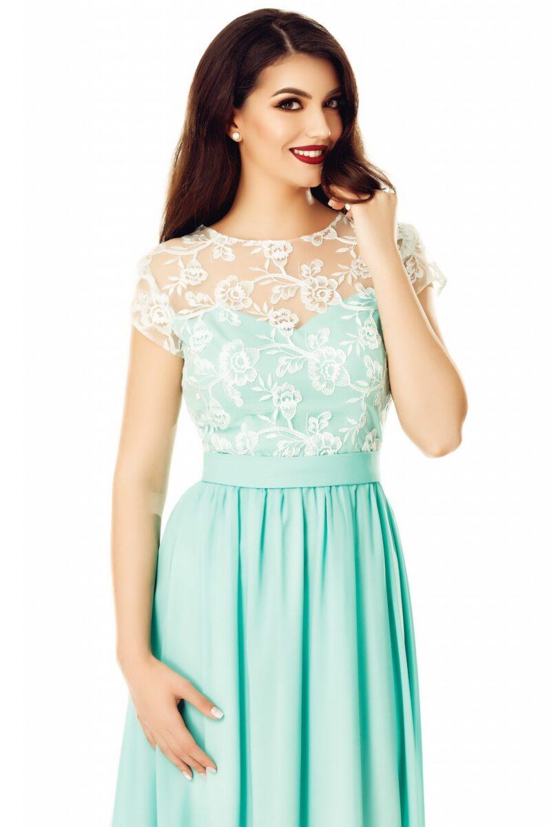 rochie cassia verde menta 4 scaled