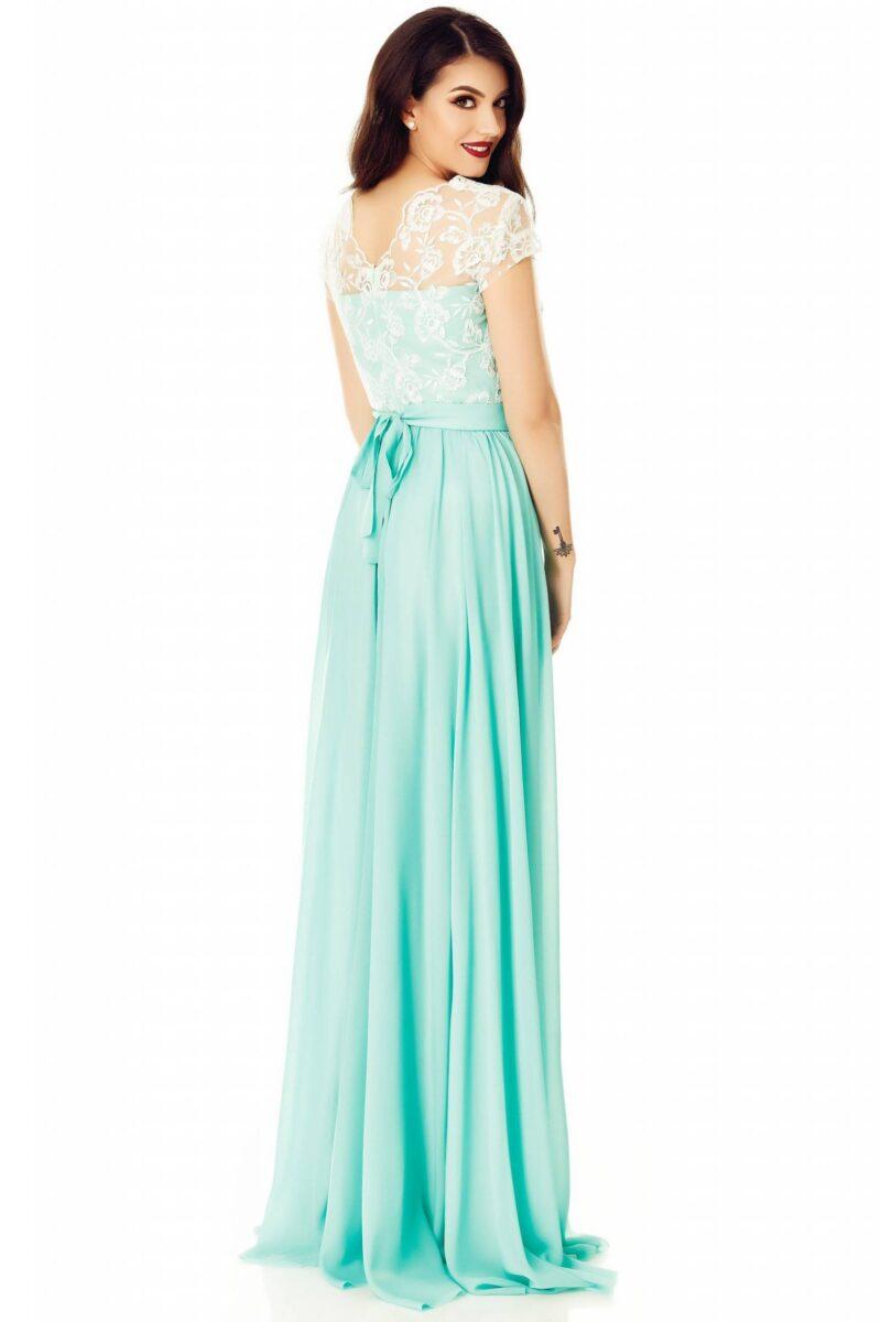 rochie cassia verde menta 5 scaled