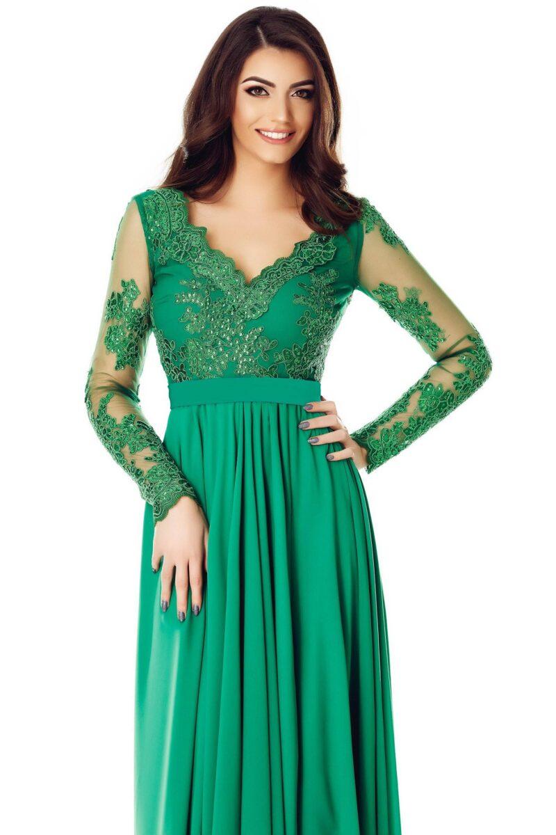 rochie darma verde 7
