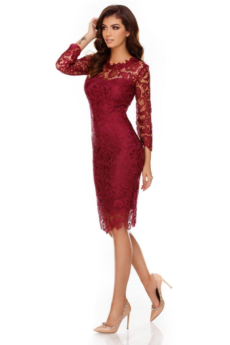 rochie din dantela midi eleganta noelle 5 scaled