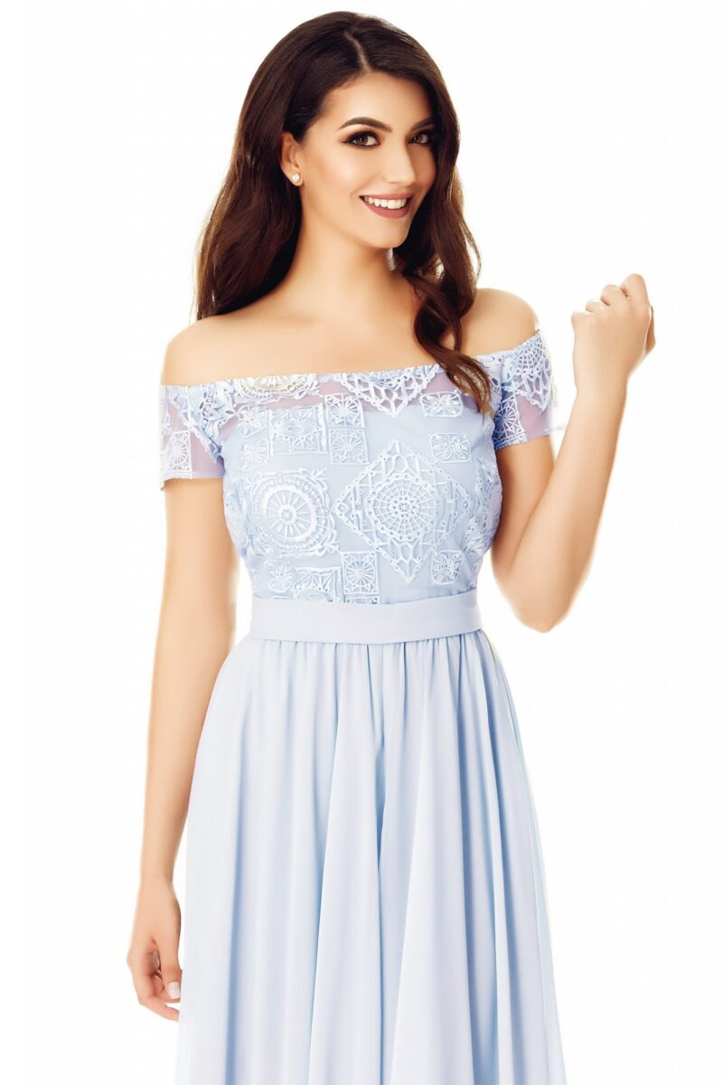 rochie eveline gri 4 scaled