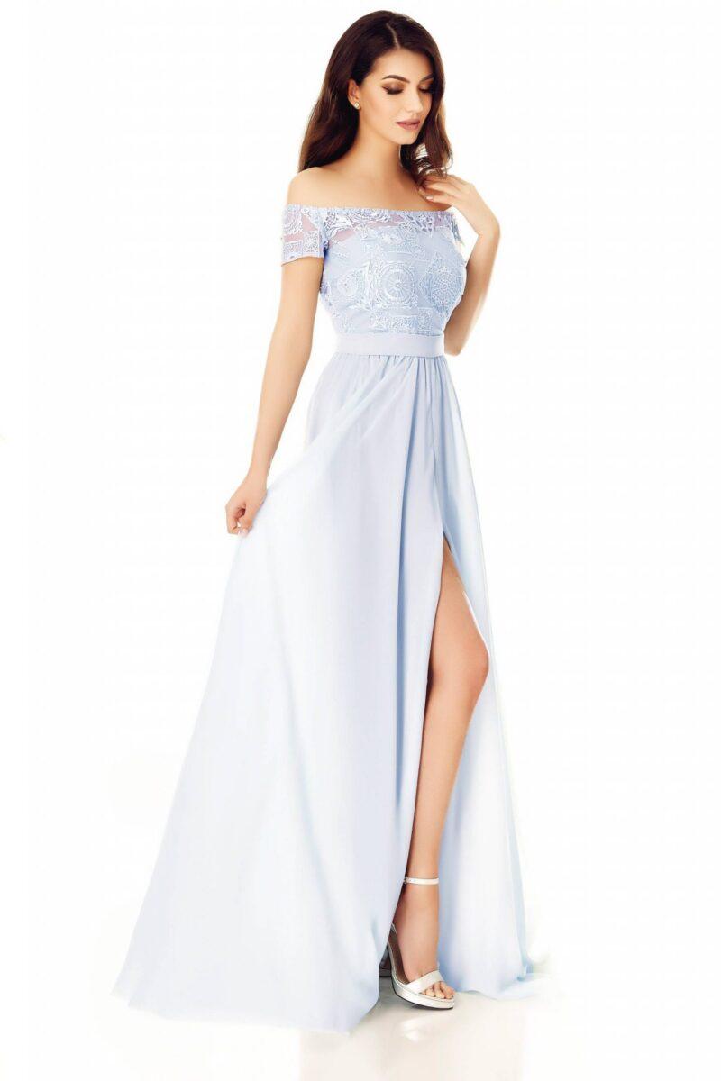 rochie eveline gri 5 scaled