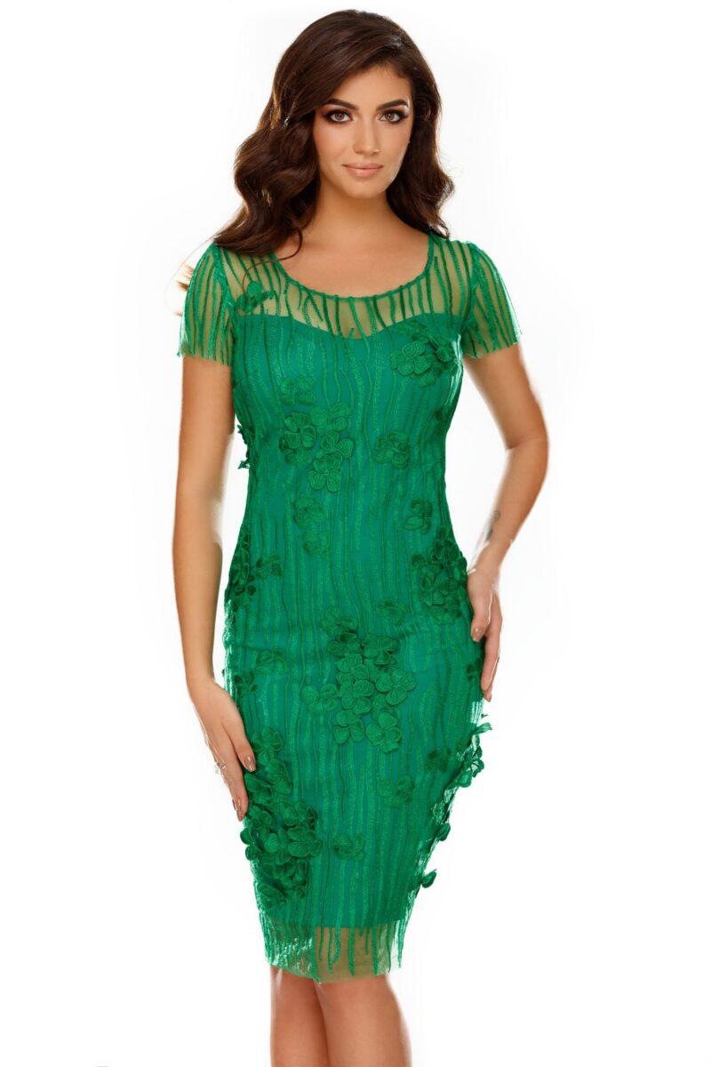 rochie fathia verde 2 scaled