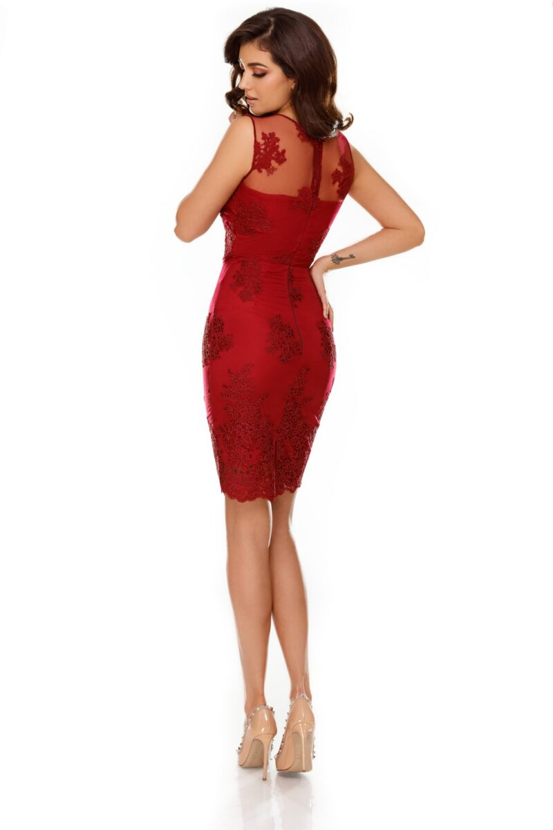 rochie ingrid bordo 1 scaled