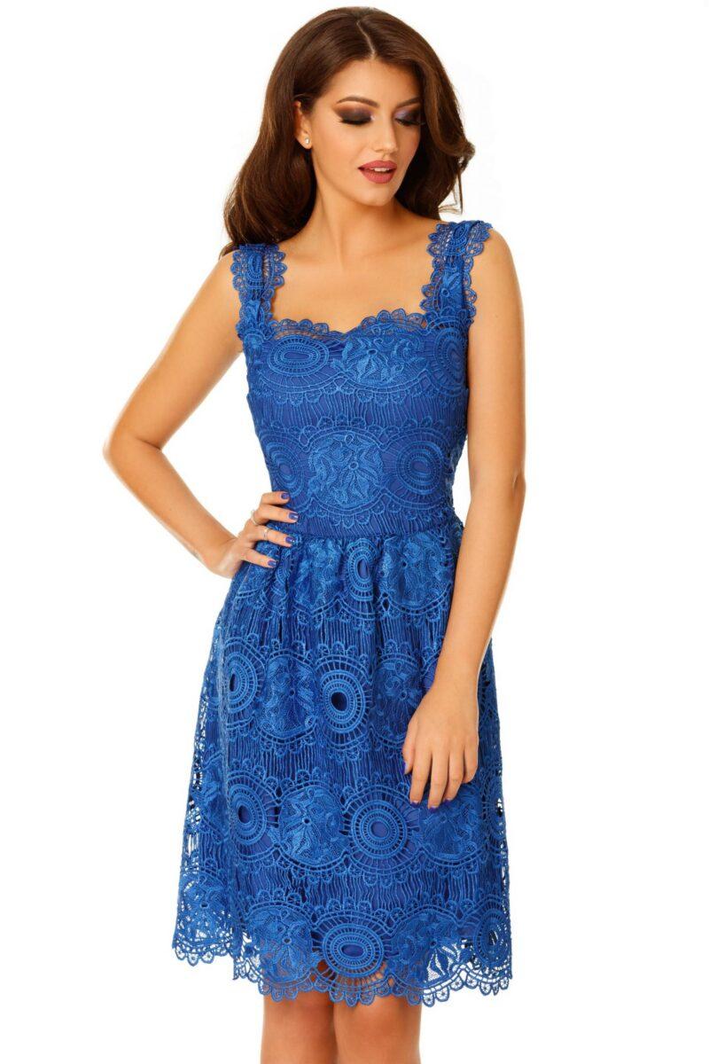 rochie karina albastra 1 scaled