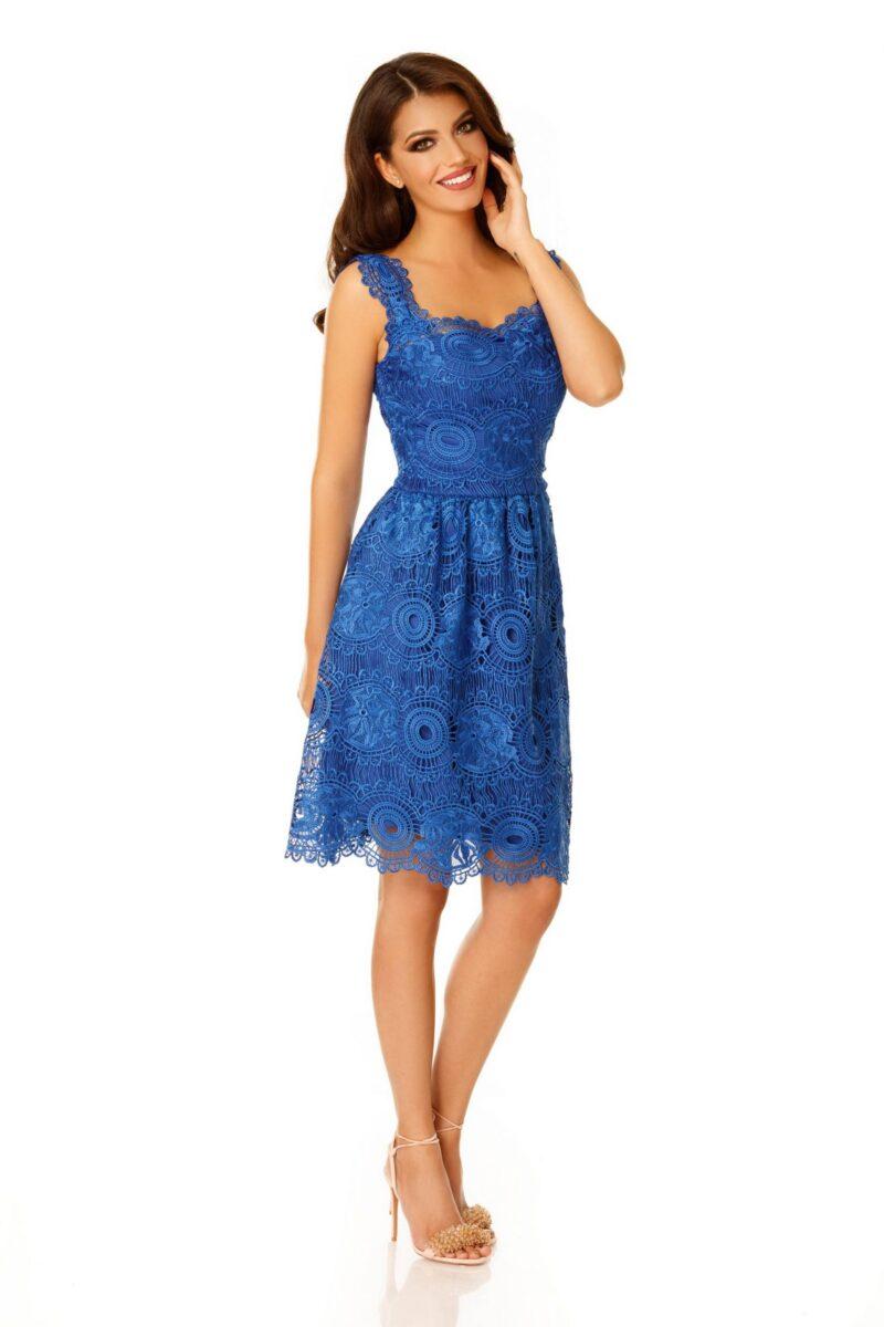 rochie karina albastra 2 scaled