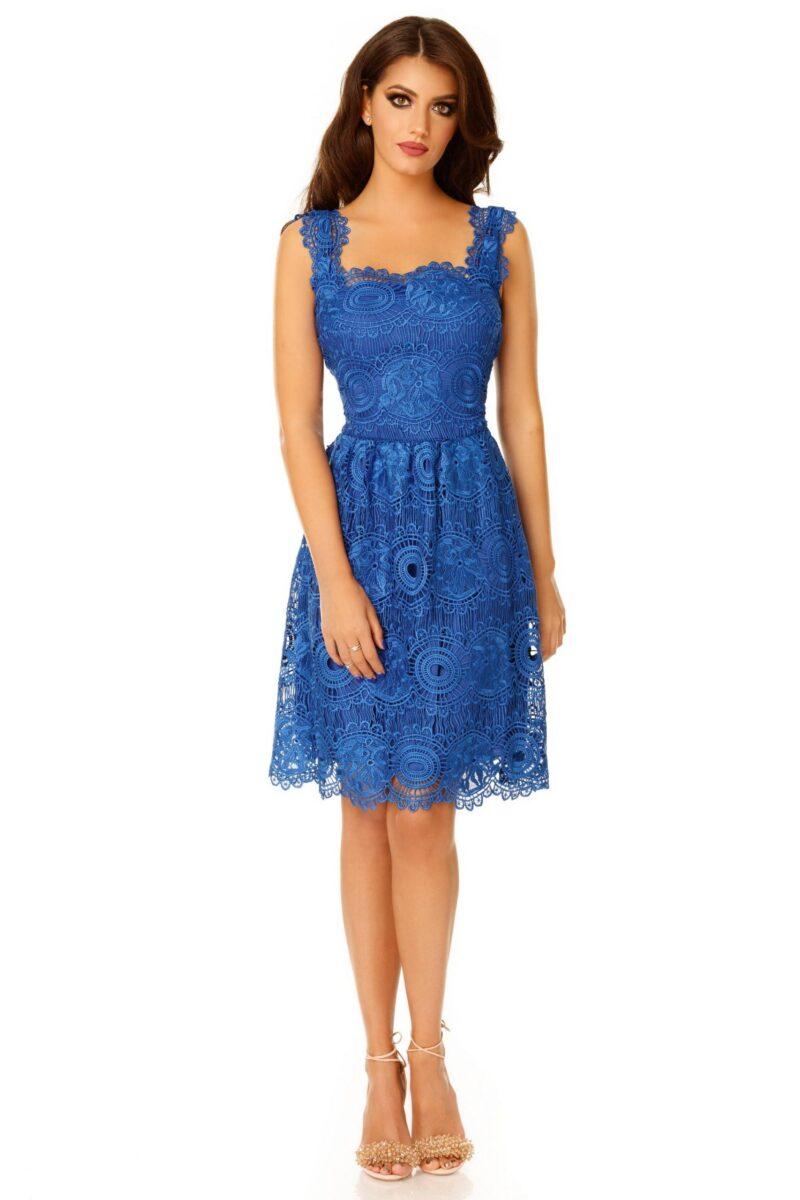 rochie karina albastra scaled