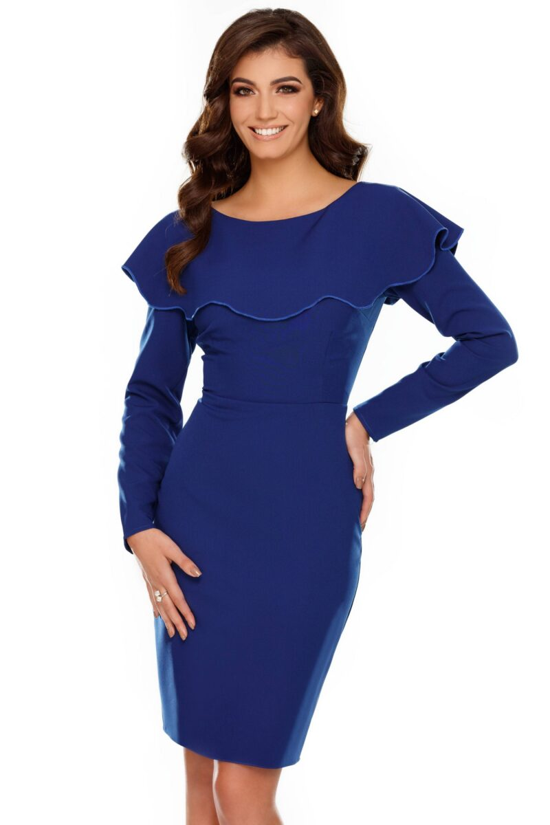 rochie lana albastra scaled