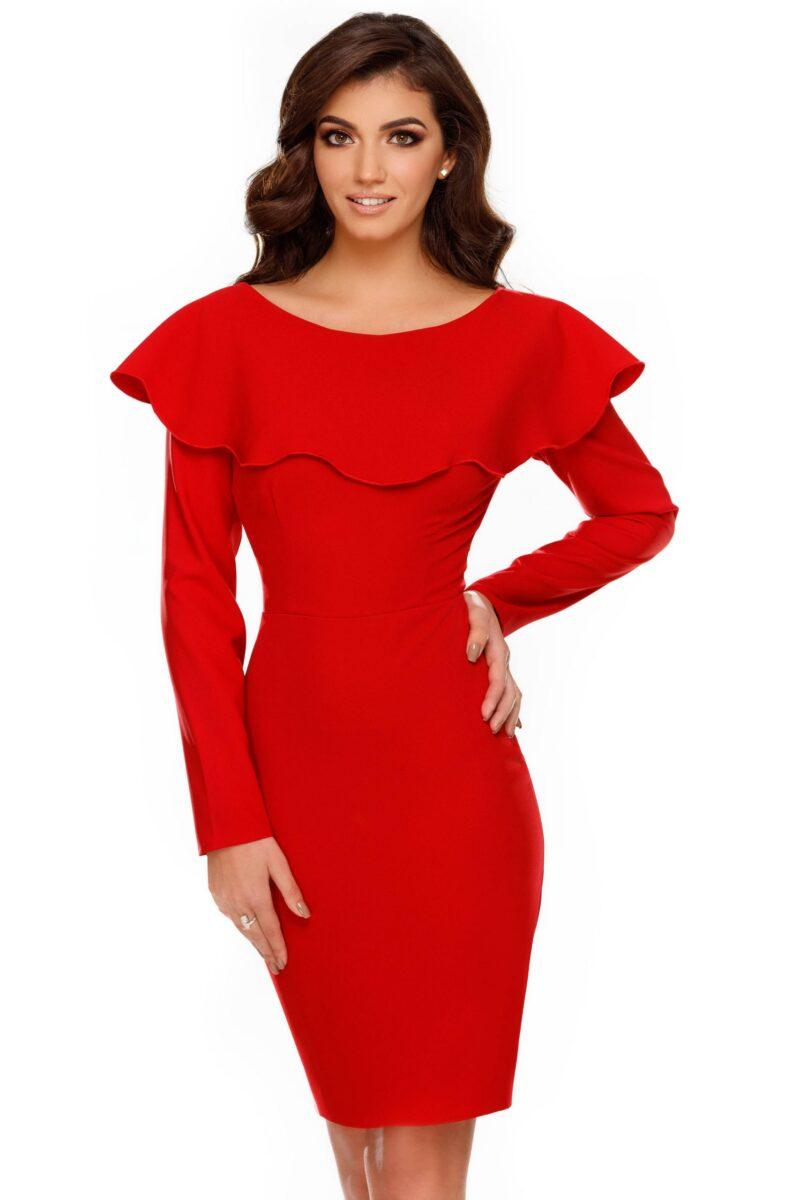rochie lana rosie 1 scaled
