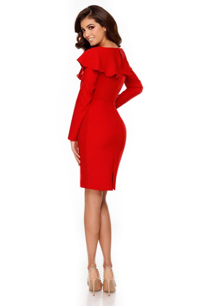 rochie lana rosie 2 scaled