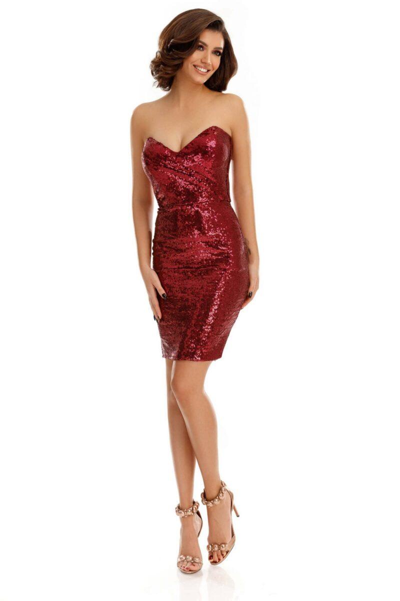 rochie natasa bordo scaled