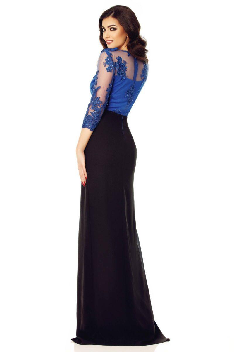 rochie nora albastru 11