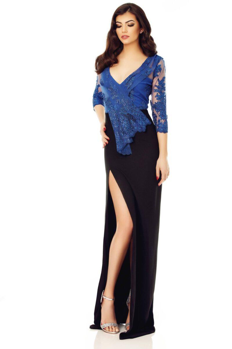 rochie nora albastru 9