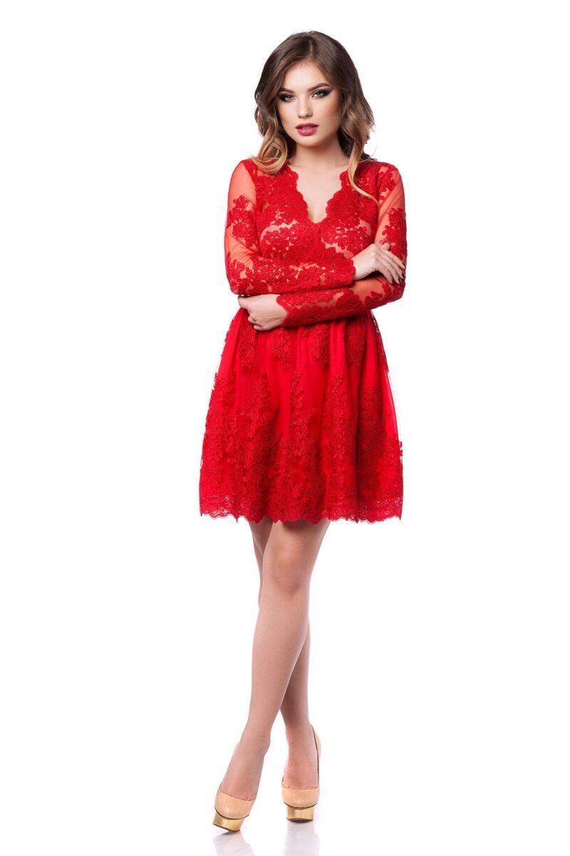 rochie norina rosie 3