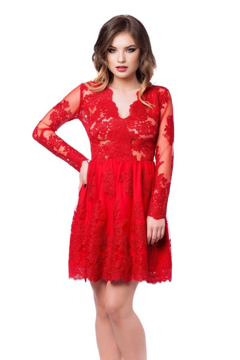 rochie norina rosie 4
