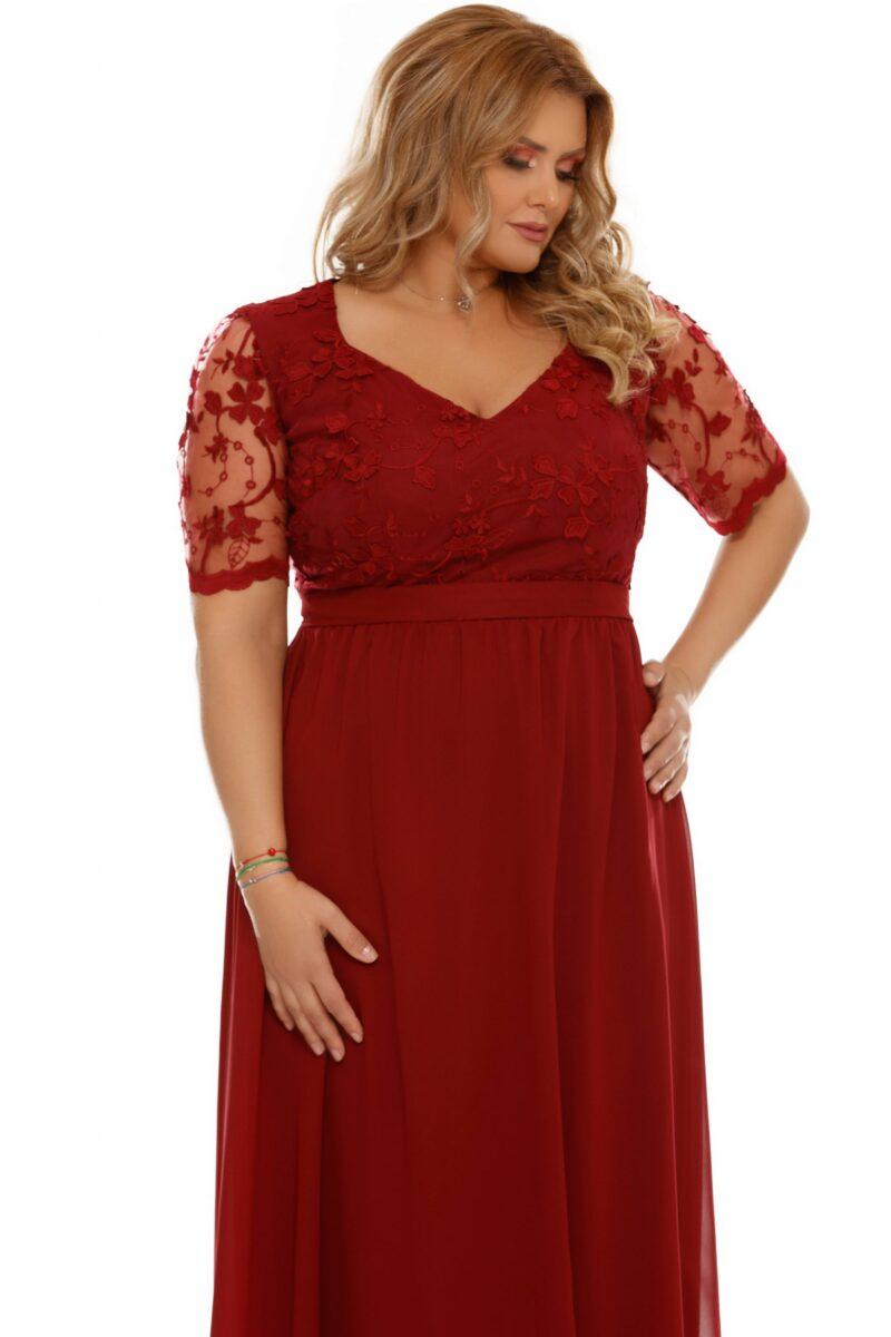 rochie plus size deborah bordo 6 scaled