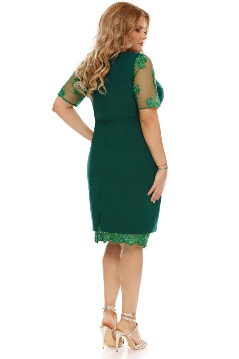 rochie plus size felicia verde 8 scaled