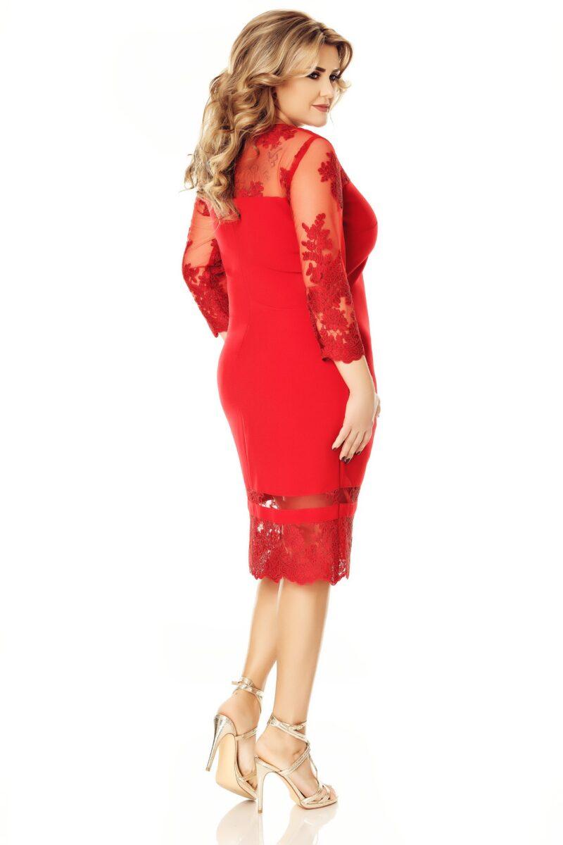 rochie plus size gratiela rosie 7
