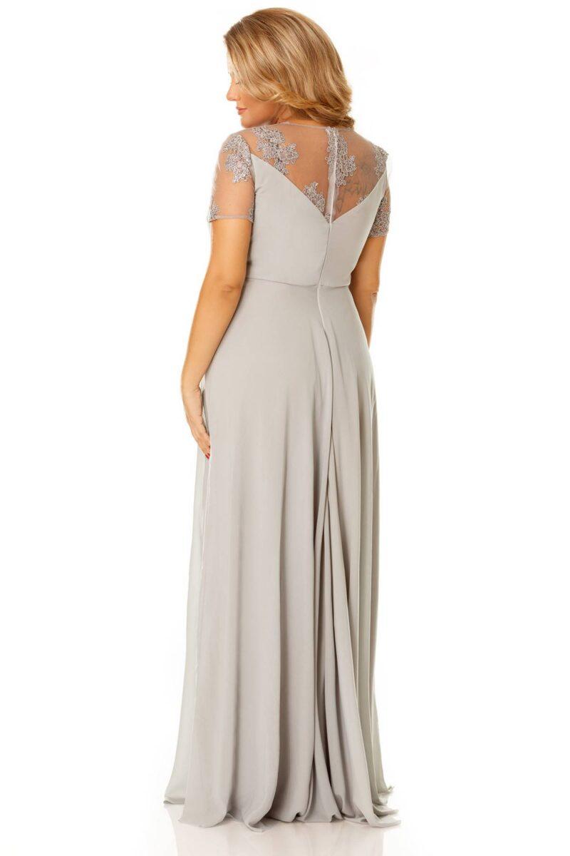 rochie plus size lia gri 7