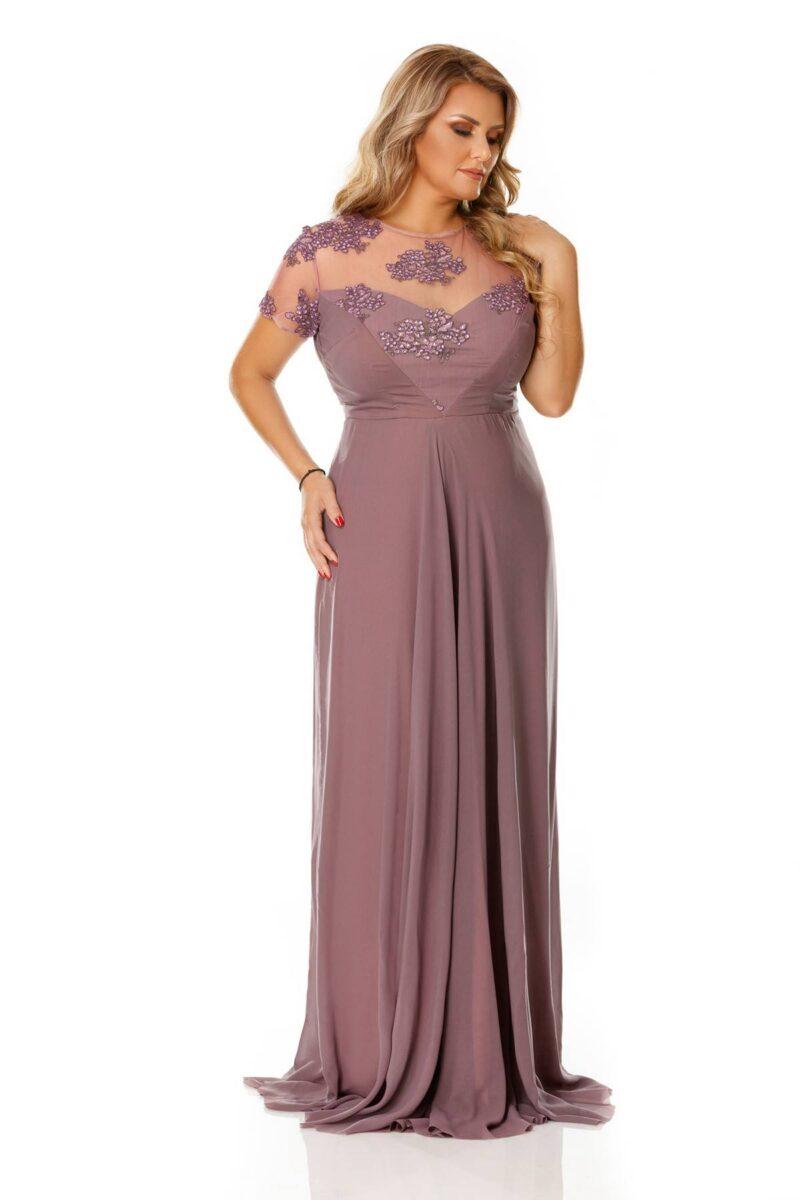 rochie plus size lia pruna 7