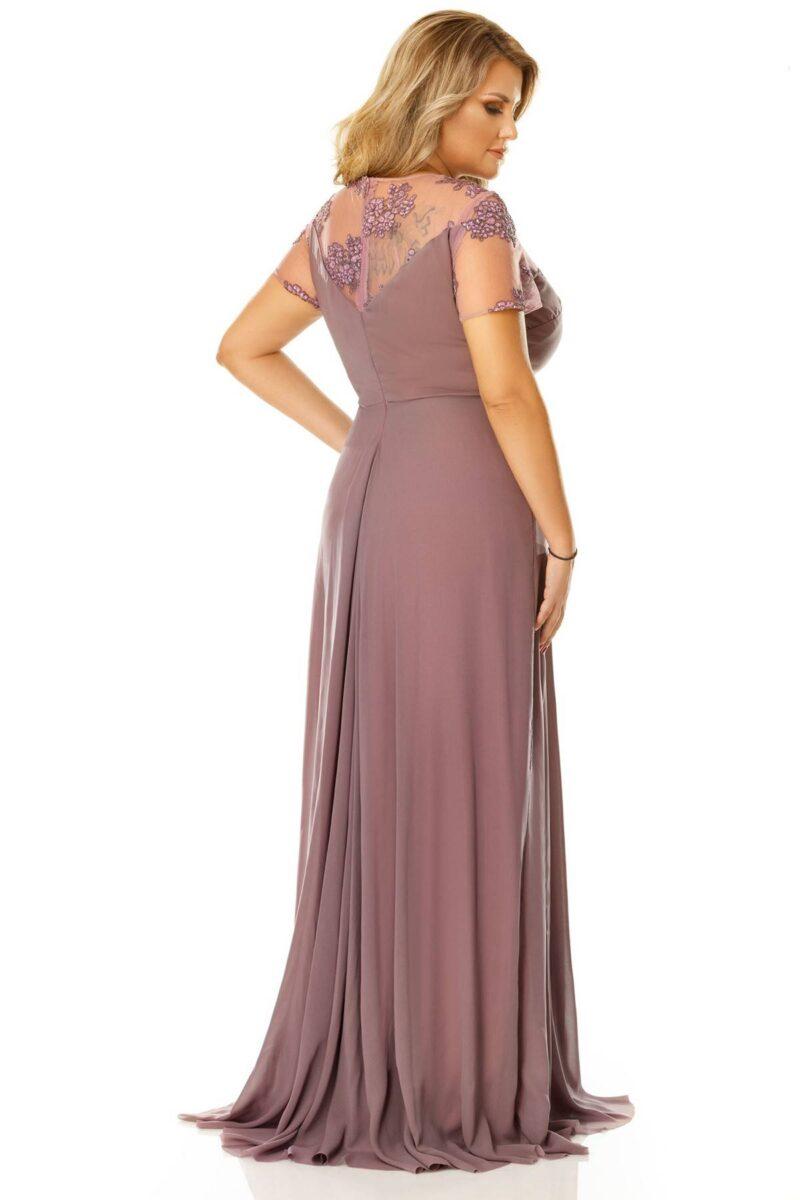 rochie plus size lia pruna 8