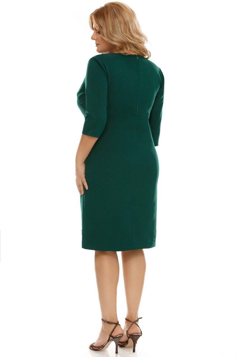 rochie plus size teresa verde 5