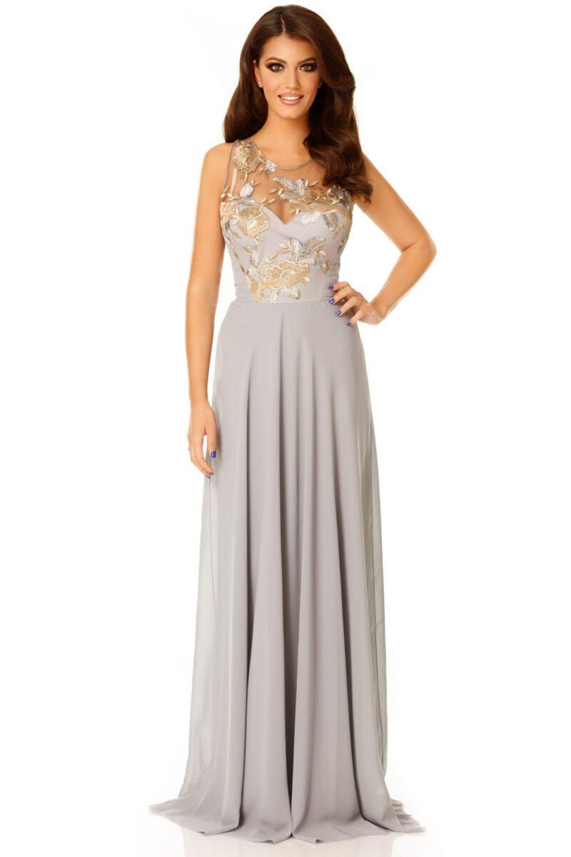 rochie serene gri 3 scaled