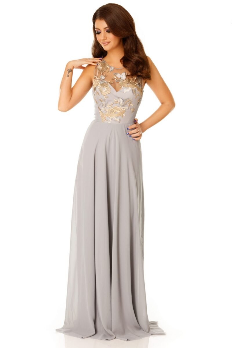 rochie serene gri 4 scaled