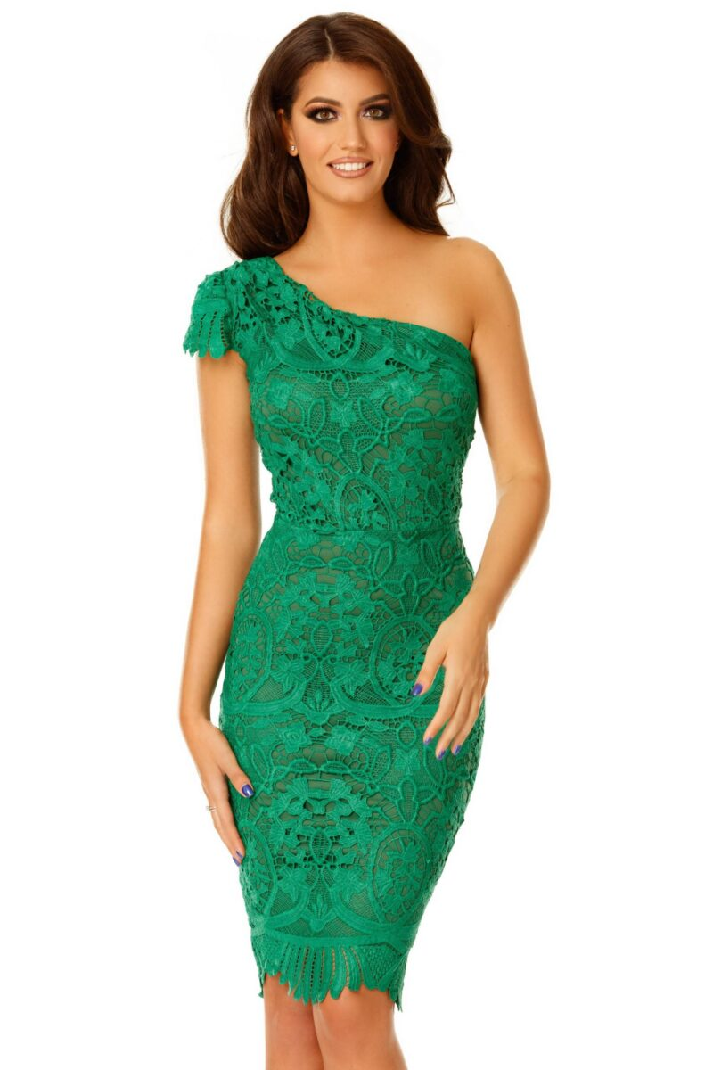 rochie sofia verde 1 scaled