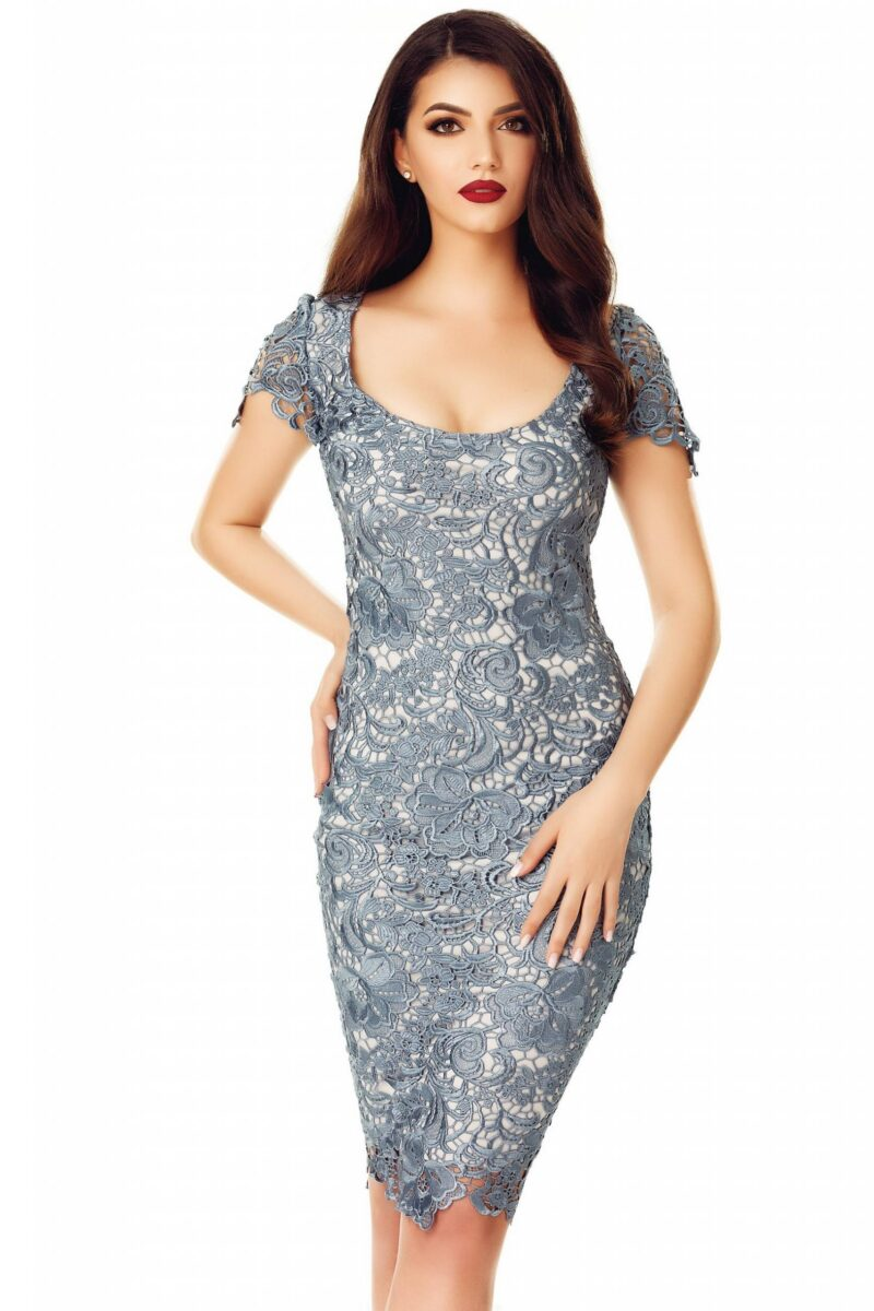 rochie taisa gri petrol 3 scaled