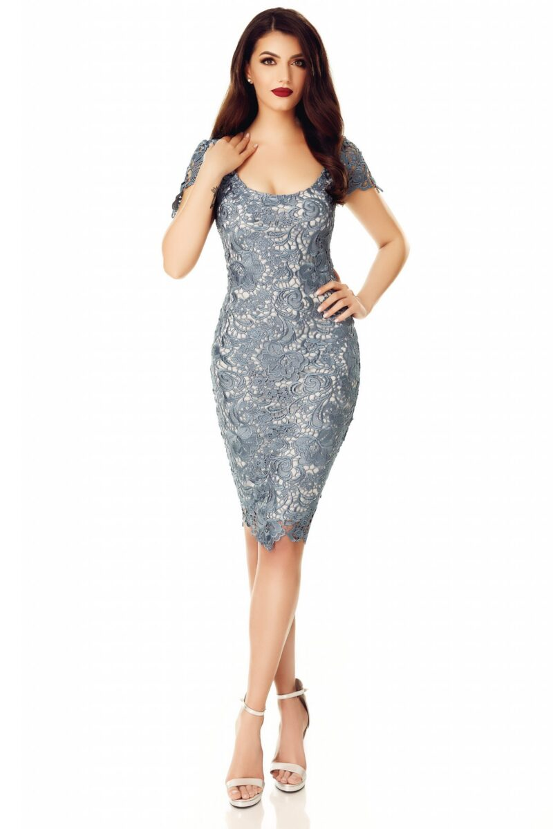 rochie taisa gri petrol 5 scaled