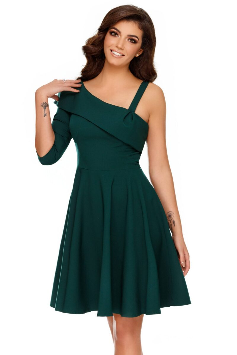 rochie thea verde 1 scaled