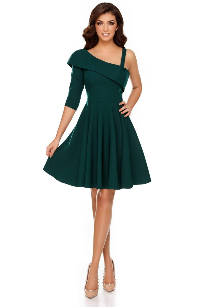 rochie thea verde scaled