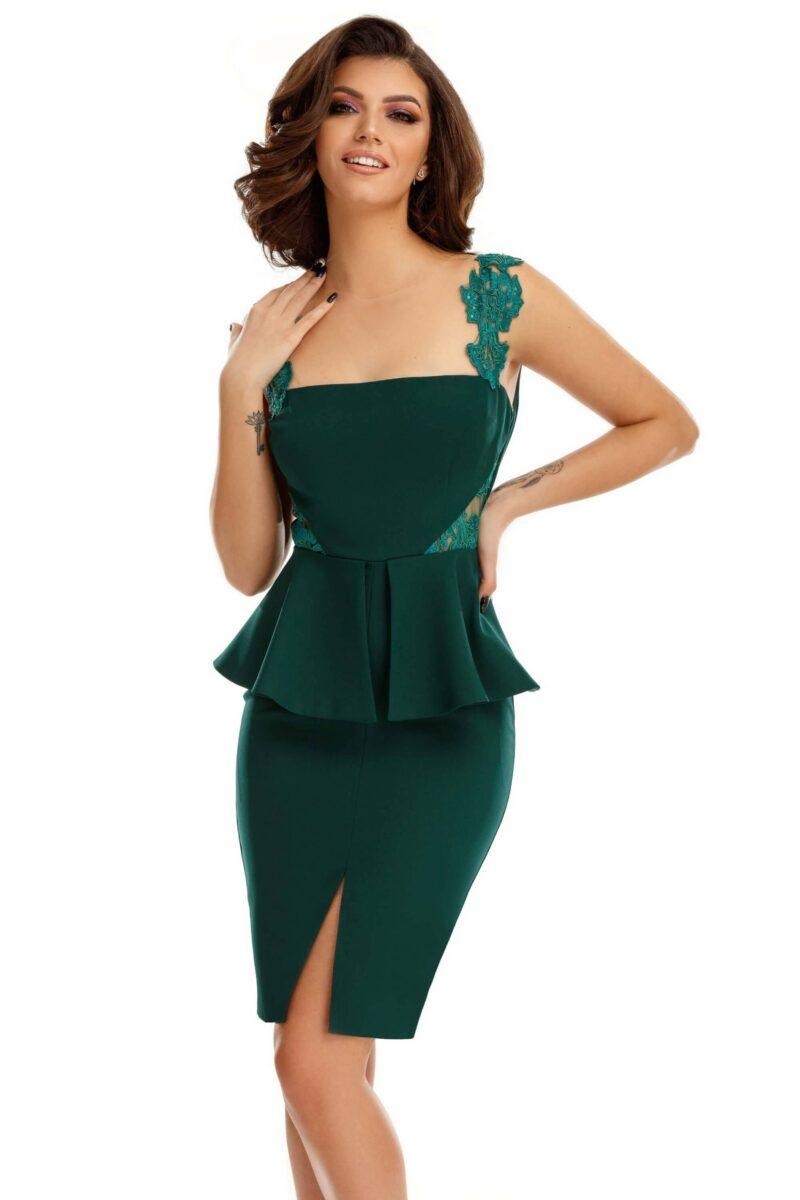 rochie xara verde 2 scaled