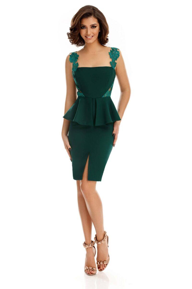 rochie xara verde scaled