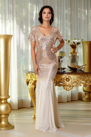 Rochie Glamorous Nude