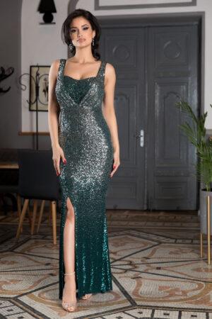 Rochie Night Diva Verde